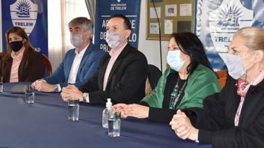 El municipio de Trelew firmó convenios con la Red Argentina de Buenas Masculinidades.