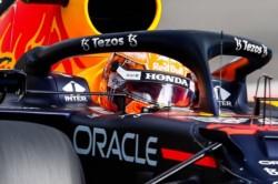 Max Verstappen logró la pole y compartirá con George Russell la primera fila.