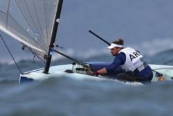 Olezza no pudo en la clase Finn y la vela cortó la racha de medallas en Juegos Olímpicos.