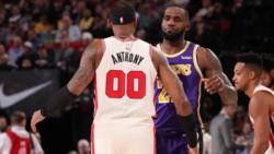 Carmelo se junta con LeBron después de estar toda una vida en contra.