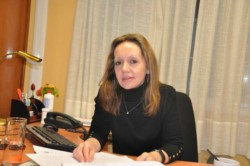 Fiscal general jefa, Silvia Pereira.