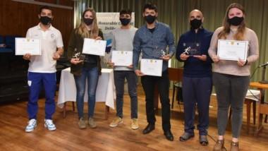 Hubo reconocimiento a deportistas en Concejo Deliberante de Esquel.