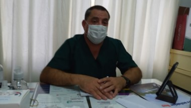 Cardozo, director del Hospital.