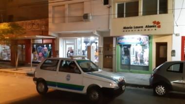 La tarea preventiva con los móviles de la Guardia Urbana por los comercios y restaurantes de Trelew.
