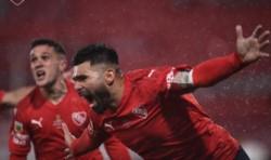 Por Silvio Romero, Independiente vuelve a festejar ante Racing: los tres puntos se quedan en el Libertadores de América.