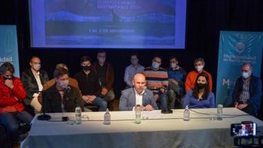 Gustravo Sastre durante la conferencia de presentación del evento.