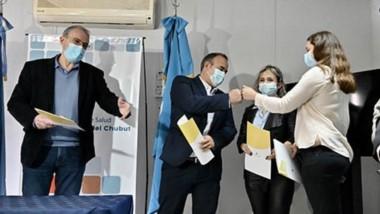 El ministro de Salud Fabián Puratich puso en funciones a los nuevos directores de hospitales y destacó que quienes asumen vienen ya trabajando en la gestión.
