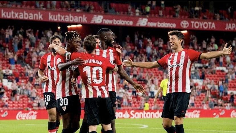 Athletic Bilbao es puntero de la Liga al derrotar a Mallorca