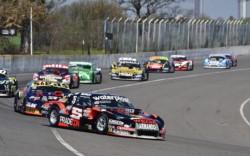 Urcera fue excluido por anomalías en el motor de su Chevrolet y la victoria en la final del TC en Rafaela fue para Ledesma.