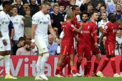 Liverpool goleó al Leeds de Bielsa y es uno de los líderes de la Premier League: suma 10 puntos, al igual que Manchester United y Chelsea.