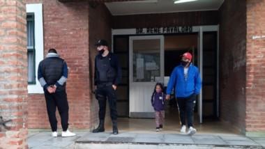 Ocurrió en la Escuela comercial II de la avenida Colombia y  Belgrano a metros de la Comisaría Segunda.