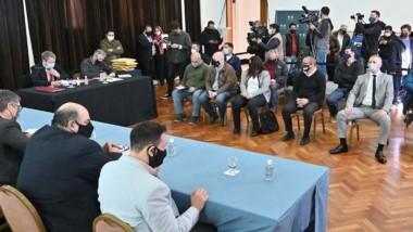 El intendente Adrián Maderna habló sobre la importancia de la obra.