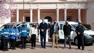 Ongarato comandó ayer un acto público en Esquel tras las PASO.