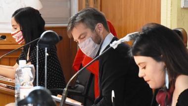 Convenios aprobados. La sesión del Concejo Deliberante de Trelew.