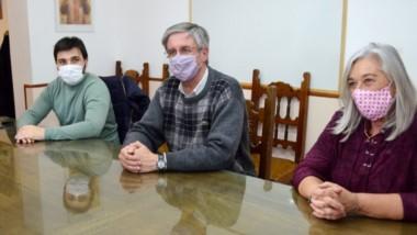 En el encuentro tras los resultados de las elecciones del domingo no estuvo presente el exsecretario de Ongarato, Matías Taccetta.