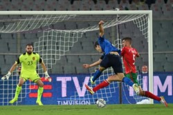 Italia no pudo pasar del empate ante Bulgaria en el primer partido tras la Eurocopa.