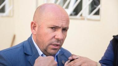 El intendente Gustavo Sastre.