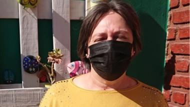 Trámites. Por la pandemia, Susana Morón debió ponerse firme.