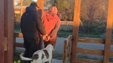 El hombre fue detenido ayer a la mañana por efectivos policiales  luego de atacar a su excuñada el domingo.
