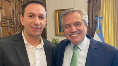 """Maderna le agradeció a Alberto Fernández el """"enfoque federal""""."""