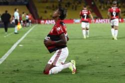 Bruno Henrique letal. El delantero marcó los cuatro goles de la serie de semifinales.