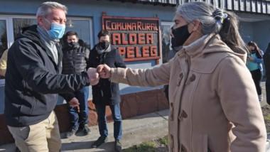 La jefa comunal de Atilio Viglione agradeció el acompñamiento por parte del Gobierno Provincial.