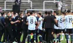 Partido suspendido, Argentina adelantando su viaje de regreso... y Brasil entrena en el campo.