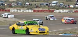 """Finalizó la acción del GP """"Hidroeléctrica Ameghino S.A."""", por la cuarta fecha de la temporada 2020-21 del automovilismo provincial, que se llevó a cabo en el Autódromo Mar y Valle.  Amilcar Oliver se"""