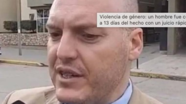 Carlos Richieri, fiscal general de Esquel, habló sobre juicios rápidos.