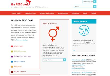 Gender redd desk screenshot