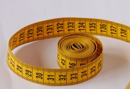 1024px plastic tape measure