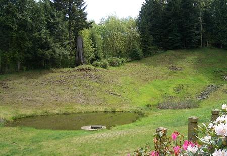 North bend uplands runoff pond 3942