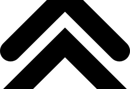 Double up arrow angles 318 53141