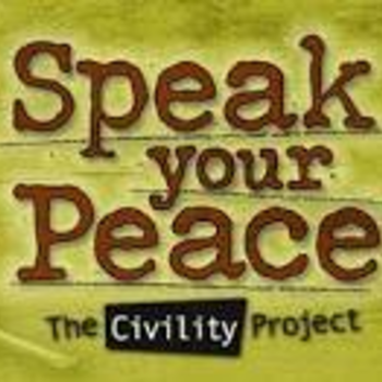 Speak your peace