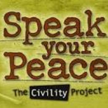 Speak your peace