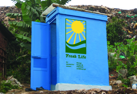 Freshlife toilet