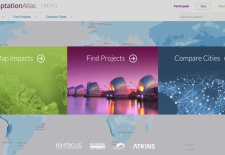 Adaptation atlas beta homepage