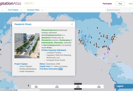 Adaptation atlas beta green infra