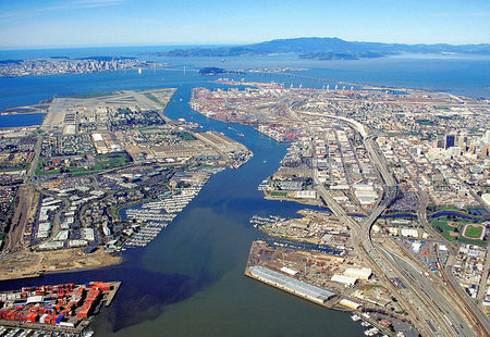 1024px oakland california aerial view