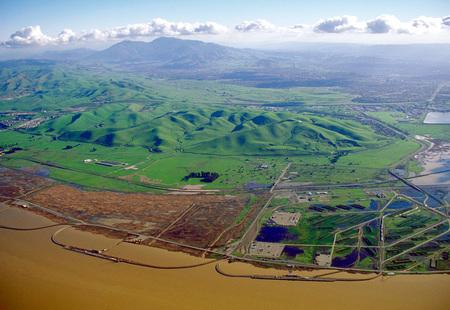 Mount diablo california from concord