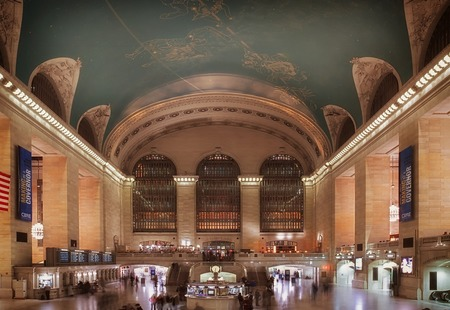 New york city grand central station people 392748