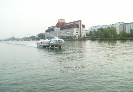 Danube river hydrofoil  a