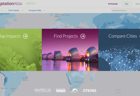 Adaptation atlas beta homepage