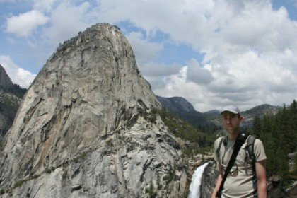Me in front of Liberty Cap