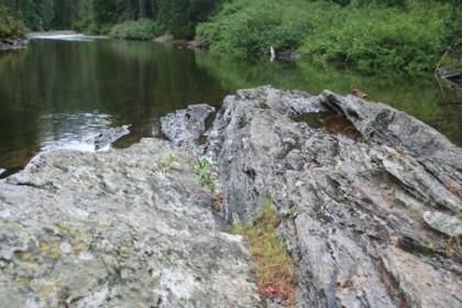 Watering rock
