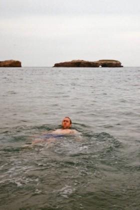 A little backstroke