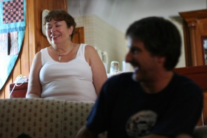 Mom and Tom