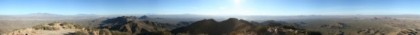 360 degree view from the top of Wasson Peak