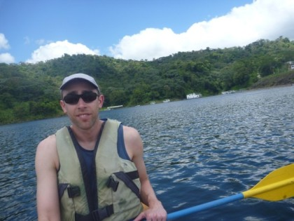 Out on Lake Arenal