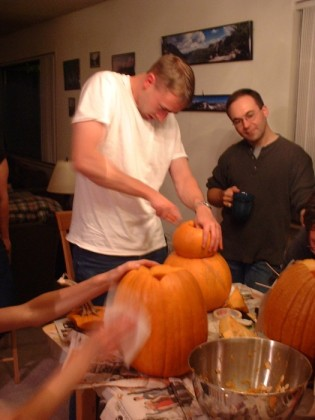 More carving excitement